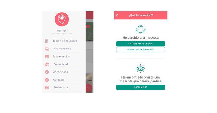 Spotpet, una aplicación colaborativa para ayudar a mascotas y dueños