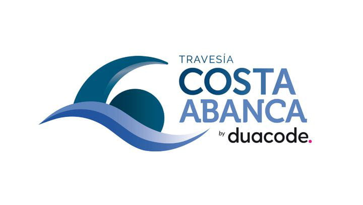 Logotipo Travesía Costa Abanca by duacode