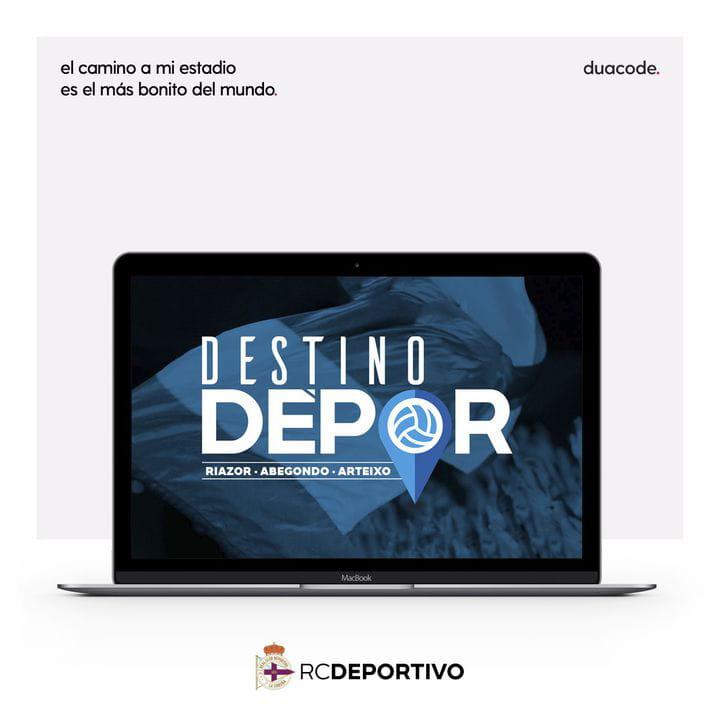 Destino Dépor: tecnología para la afición