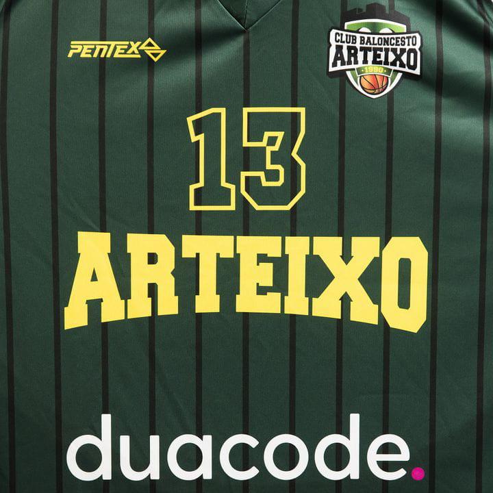 Duacode es el principal patrocinador del Club Baloncesto Arteixo