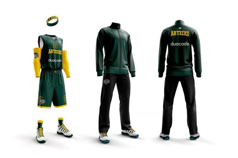 Vestidos para ganar: diseñamos la equipación del CB Arteixo   Noticias