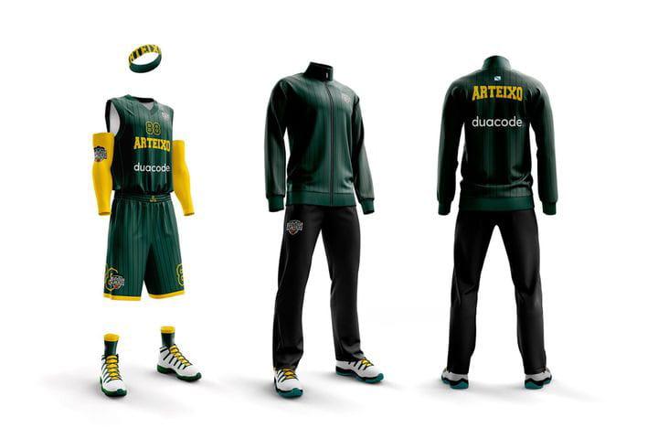 Vestidos para ganar: diseñamos la equipación del CB Arteixo