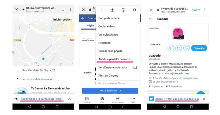 Diseño de Progressive Web Apps en Coruña - ¿Página web o app?