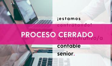 Oferta empleo: administrativo/a contable senior | Noticias